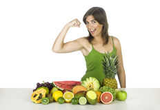 Vitamine strenght Royalty Free Stock Photography
