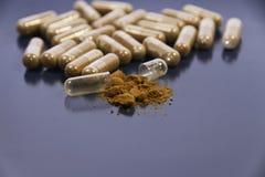 Vitamine und Ergänzungen lizenzfreies stockfoto
