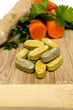 Vitamine und Vegis und Ingwer Lizenzfreie Stockfotografie