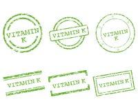 Vitaminek zegels Royalty-vrije Stock Foto