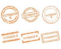 Vitaminek zegels Royalty-vrije Stock Foto's