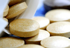 Vitaminen royalty-vrije stock afbeelding
