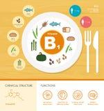 Vitaminen en Mineralen stock illustratie
