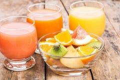 Vitaminenachtergrond Stock Afbeeldingen