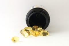 Vitaminepillen Stock Afbeeldingen