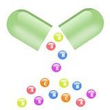vitaminer Arkivfoto