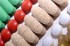 vitaminer Arkivbild