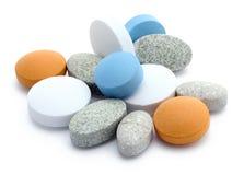 Vitamines Photographie stock libre de droits