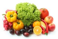 Vitamines colorées Photo stock