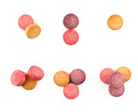 Vitamines et suppléments Photo libre de droits