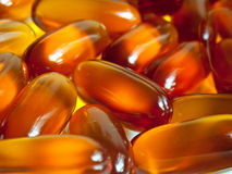 Vitamines, pillules Photographie stock libre de droits