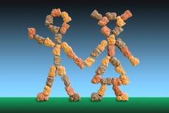 Vitamines pour des enfants Images libres de droits