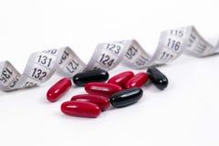 Vitamines pour un régime healty Images libres de droits