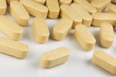 Vitaminetabletten Royalty-vrije Stock Fotografie