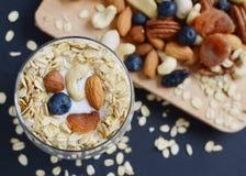 Vitaminfrühstücks-Jogurtcocktail Lizenzfreies Stockbild