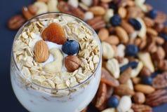 Vitaminfrühstücks-Jogurtcocktail Lizenzfreie Stockfotografie