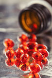 Vitaminpillen Stockfotografie