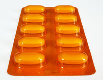 Vitaminpillen Lizenzfreies Stockfoto