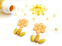 Vitamins stock photos