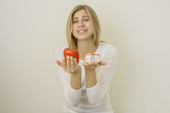 Vitamins against sugar Stock Photography