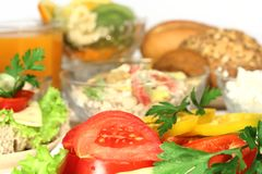 Vitamins Breakfast Royalty Free Stock Images