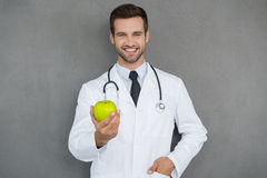 Vitamins are important for health. Royalty Free Stock Photo