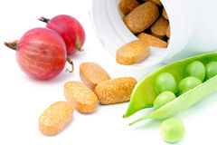 Vitamins and minerals. Stock Photography