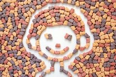 Vitamins for my child. Photo of children vitamins in a graphic way 2 stock photo