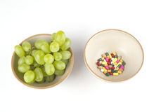 Vitamins or pills ? Royalty Free Stock Images