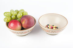 Vitamins or pills ? Royalty Free Stock Photography