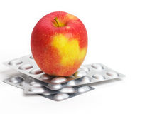 Vitamins or pills? Royalty Free Stock Images