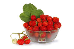 Vitamins in a plate. The strawberry in a plate Stock Photo