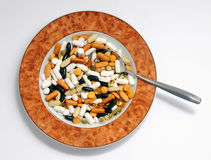 Vitamins soup Stock Photos