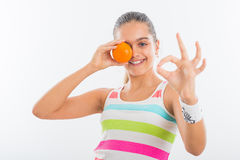 Vitamins for sport Stock Images