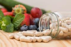 Vitamins supplements. Stock Image