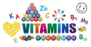 Vitamins Royalty Free Stock Photos