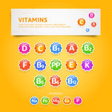 Vitamins Royalty Free Stock Images