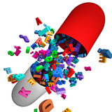 Vitamins Royalty Free Stock Photography