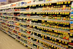 Vitamins. Vitamin store. Huge selection of vitamins and supplements Stock Photo