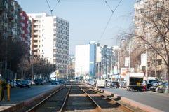 Vitan-Straße Stockfoto
