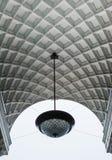 Vitbåge med lampan Royaltyfria Bilder