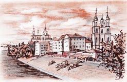 Vitebsk (Belarus) Royalty Free Stock Photos