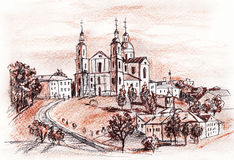 Vitebsk Castle Stock Photo