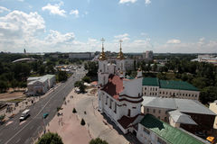 Vitebsk moderne Hôtel de ville Image libre de droits
