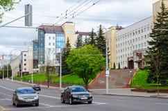 Vitebsk statbeställning av kamratskap av folk medicinskt universitet, Vitryssland Arkivbild