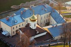 Vitebsk woman monastery roofs. Stock Photos