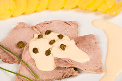 Vitel tone beef Stock Images