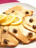 Vitello tonnato Stock Images