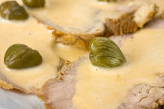 Vitello tonnato Stock Image