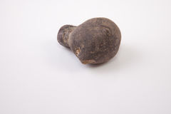 Vitelotte potatoe Stock Photo
